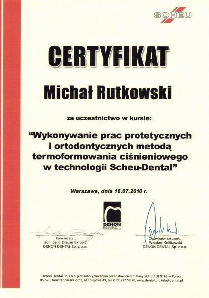 MICHAŁ RUTKOWSKI DENTPERFECTA